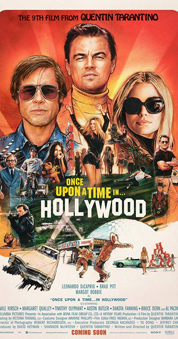 FILM REVIEW:: ONCE UPON A TIME IN HOLLYWOOD