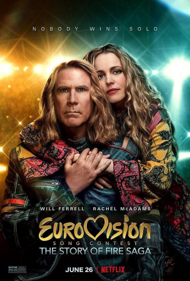 FILM REVIEW:: EUROVISION SONG CONTEST: THE STORY OF FIRE SAGA
